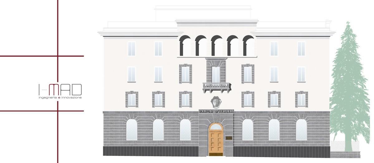 Progetto Banca d'Italia - sede di Potenza approvato da Soprintendenza archeologia, belle arti e paesaggio della Basilicata