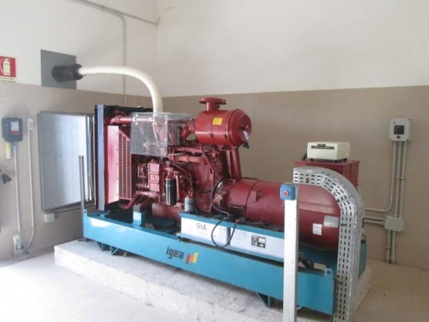 Adeguamento antincendio dell'impianto di produzione energia elettrica ausiliaria presso l'aeroporto di Brindisi