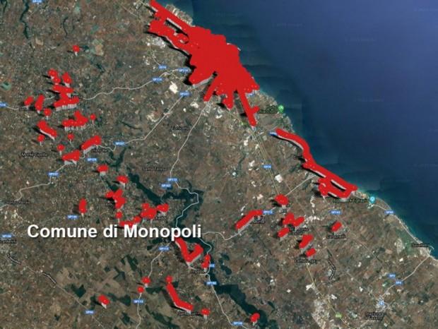 Efficientamento energetico,  riqualificazione ed ampliamento degli impianti di pubblica illuminazione di Monopoli