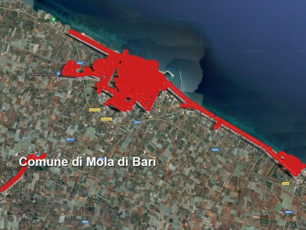 Efficientamento energetico e riqualificazione della pubblica illuminazione di Mola di Bari