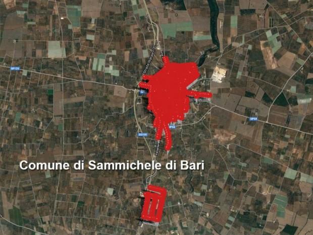 Efficientamento energetico,  riqualificazione ed ampliamento degli impianti di pubblica illuminazione di Sammichele di Bari