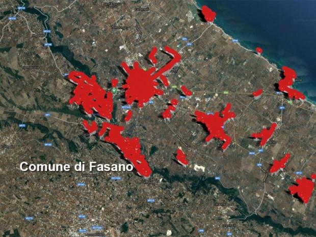 Efficientamento energetico,  riqualificazione ed ampliamento degli impianti di pubblica illuminazione di Fasano