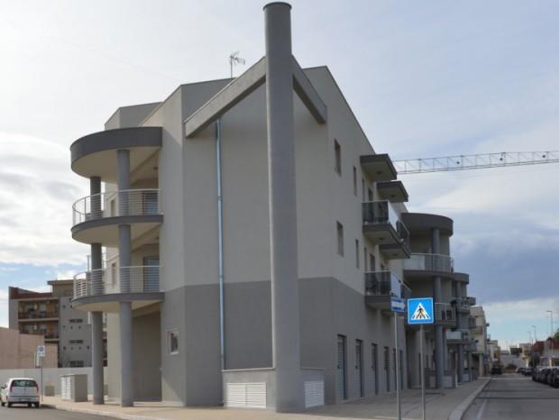 """Nuovo edificio residenziale denominato """"Borgo San Domenico"""" in Sammichele di Bari"""