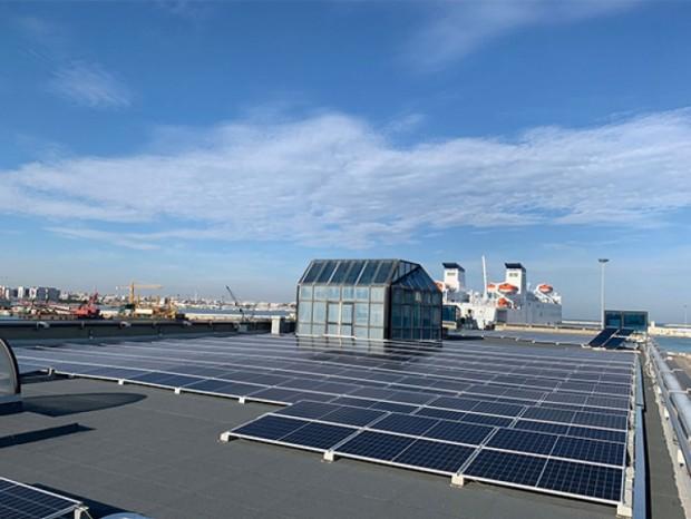 Realizzazione di un impianto fotovoltaico da 127,30 kWp presso la stazione marittima del Porto di Bari