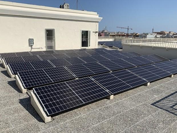 Connessione di un impianto fotovoltaico da 14,95 kWp presso la Guardia di Finanza in Monopoli (BA)