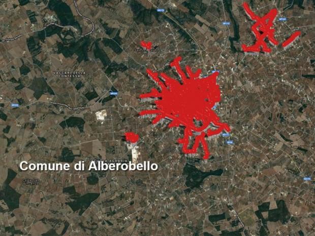 Efficientamento energetico,  riqualificazione ed ampliamento degli impianti di pubblica illuminazione di Alberobello